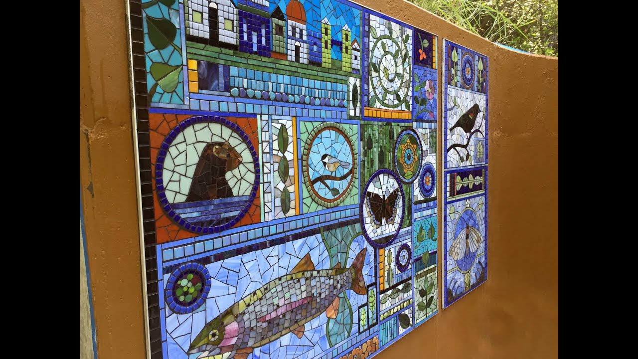 Mosaic Art Captures River Creatures At MK Nature Center