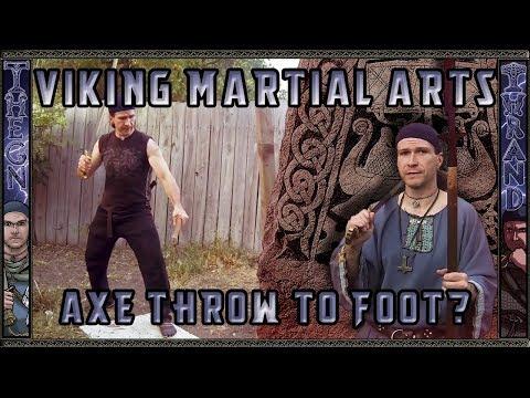 Viking Martial Arts - Lesson 4 : Hidden Axe Throw to Foot?