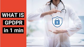 GPDPR and control of your medical data explained in 1 min