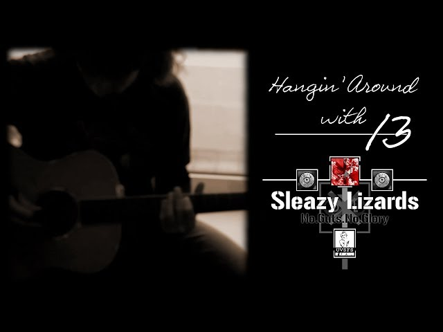 Hangin' Around with Sleazy Lizards [...Guitar Day - Taylor tryouts...]