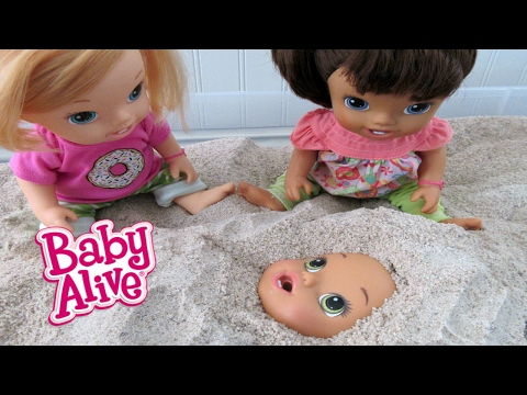 Thumbnail: BABY ALIVE Babies Play In Sandbox!