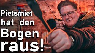 Das Duell: PietSmiet geht Bogenschießen!