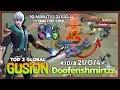 The Fastest Killing Machine  Doofenshmirtzz Top 2 Global Gusion   Mobile Legends