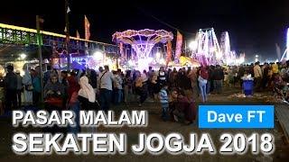 Pasar Malam Sekaten Jogja 2018 | Alun Alun Utara Yogyakarta