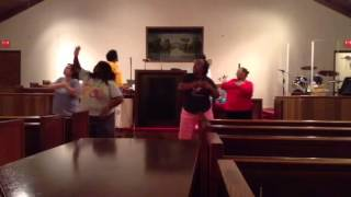 WOW-Christmas star praise dance practice
