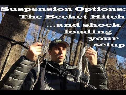 Hammock Suspension Options: The Becket Hitch... and what happens when you shock load it!