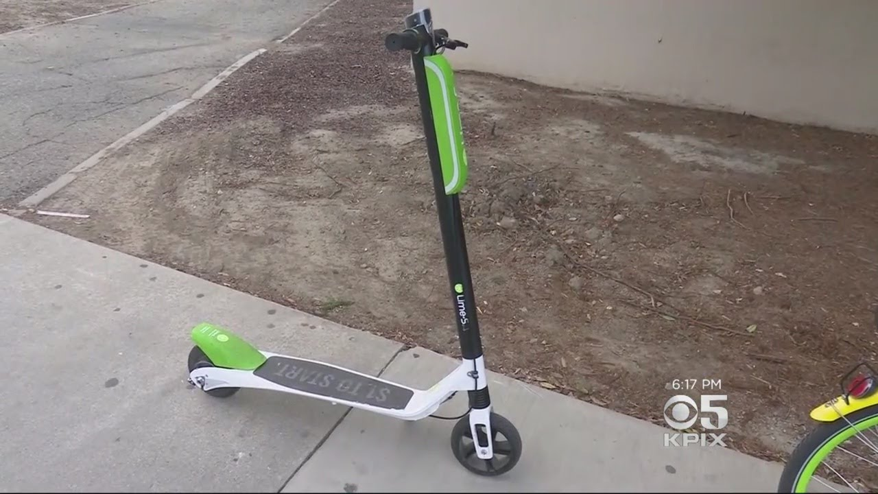 New to San Jose: Electric Scooters You Rent by the Ride