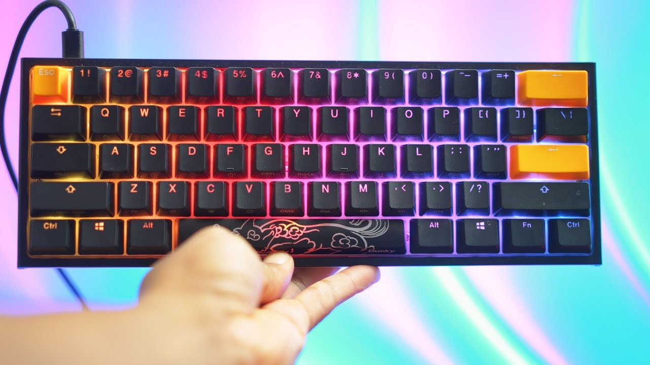 dbeba075c53 Ducky One 2 Mini Review: BEST mechanical Keyboard of 2018! - YouTube
