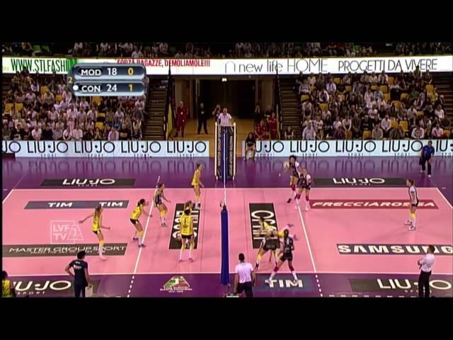 #videoemozioni. Liu Jo Modena 2  Imoco Volley Conegliano 3