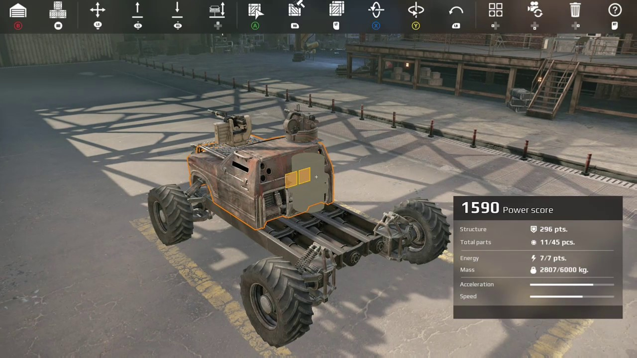 Crossout Xbox One Building guide  How to Build your ride from scratch   Basics Building tutorial