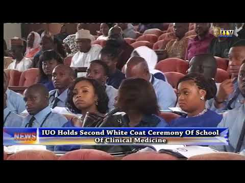 IUO holds second White Coat Ceremony of School of Clinical Medicine