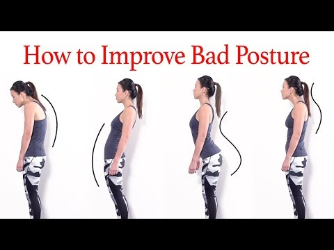 How to Improve Bad Posture & Look Tall - Exercises & Causes | Joanna Soh