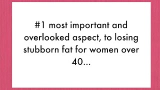 Weight Loss For Women Over 40 - Why It's So Hard, and What Works - Weight Loss After 40
