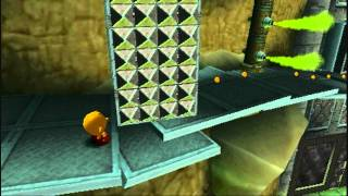 Pac-Man World 3 (PSP) Walkthrough - 01 - Intro, Bot Boneyard