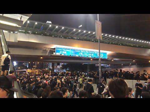 [直播]8月18日集會遊行金鐘政府總部現場