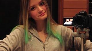Как сделать цветные волосы дома? | CHALKING HAIR(, 2012-12-03T15:43:43.000Z)