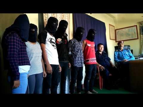 police press conference on artist bikram pariyar murder case