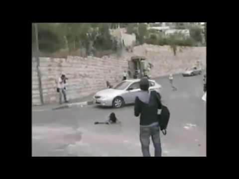 Kejam, Warga Israel ini Tabrak anak anak Palestina dengan mobil