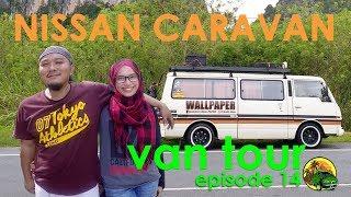 #VANTOUR | Nissan Urvan Caravan #RETRO #CAMPERVAN