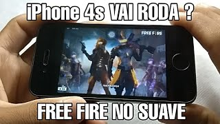 iPhone 4s FREE FIRE no SUAVE