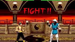 Mortal Kombat 2 - Shang Tsung (Sega Genesis) (By Sting)