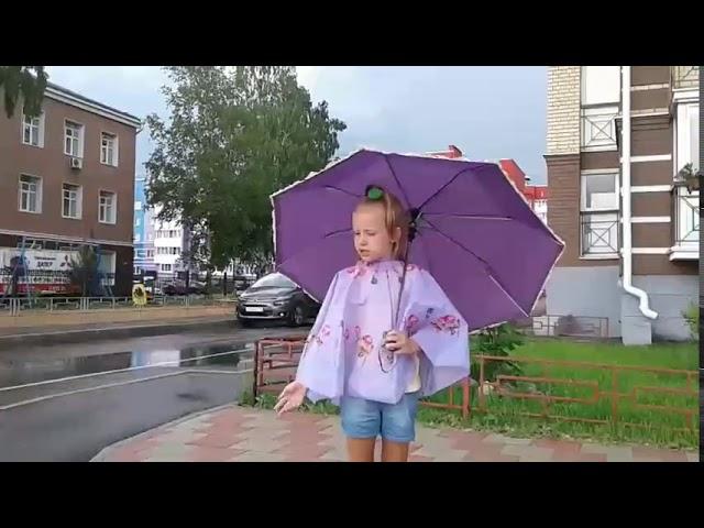 Изображение предпросмотра прочтения – АлисаКиселева читает произведение «Весенний дождь» А.А.Фета