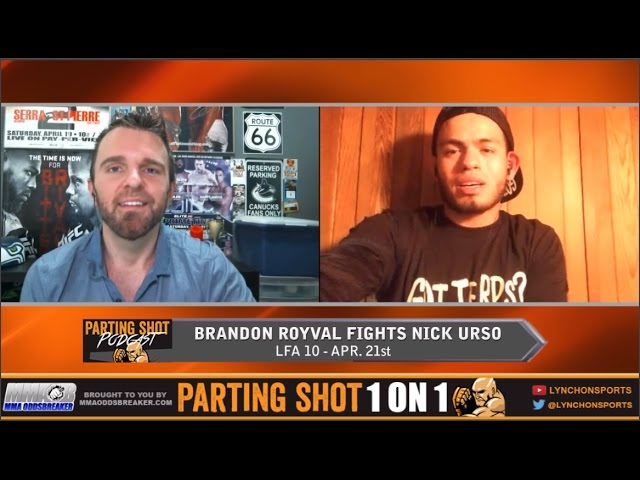 """LFA 10's Brandon Royval """"I've got a different style that's going to throw Nick Urso off a bit"""""""