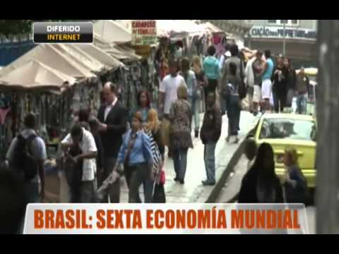 Brasil: sexta economía mundial