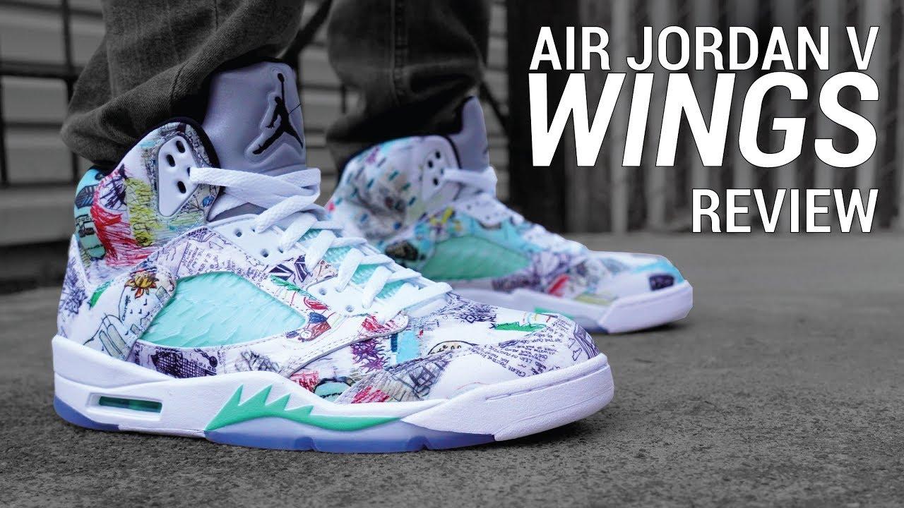 Air Jordan 5 Wings Review \u0026 On Feet
