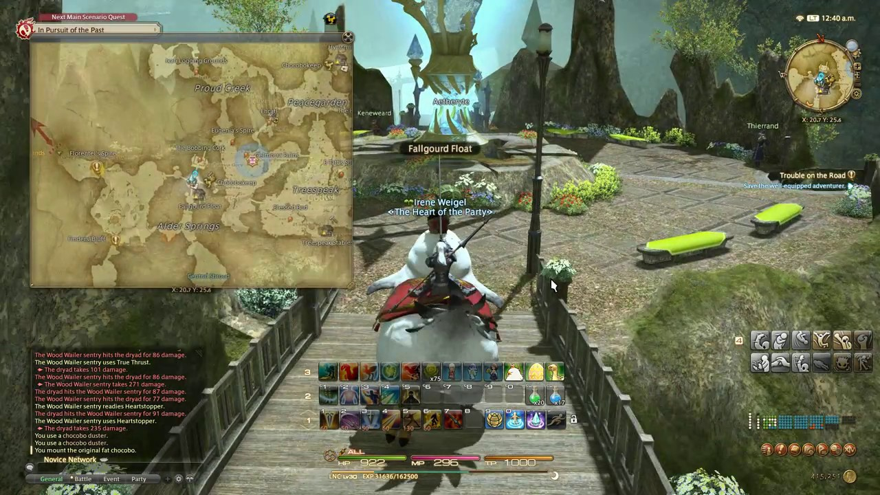 FFXIV ARR : Lv28 Trouble on the Road - Walkthrough