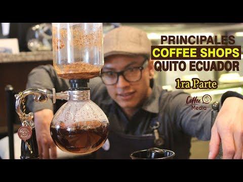 Conoce las principales Coffee Shops de Quito Ecuador