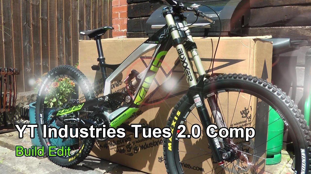 74c36938383 YT Industries Tues 2 0 Comp - Build Edit - YouTube