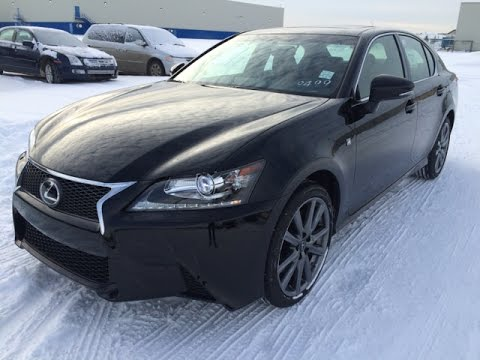 New Black on Cabernet Red 2015 Lexus GS 350 AWD F Sport Series 2 Review - Central Edmonton