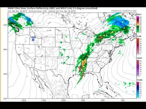 Weather Forecast Thursday 4/18/19