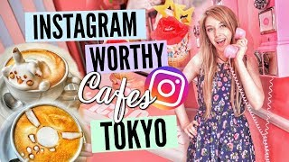 4 INSTAGRAM WORTHY CAFES IN TOKYO // JAPAN TRAVEL GUIDE// Harajuku & Omotesando