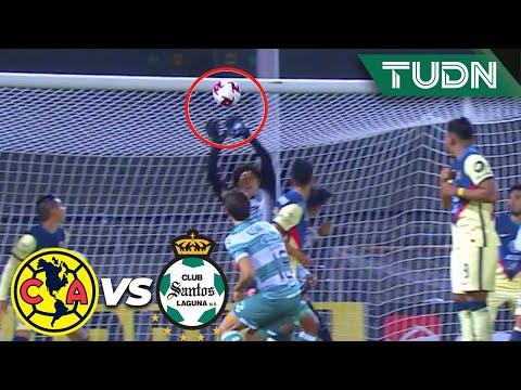 ¡ENORME! ¡Qué atajada de Ochoa!   América 3-1 Santos   Guard1anes 2020 Liga BBVA MX - J4   TUDN