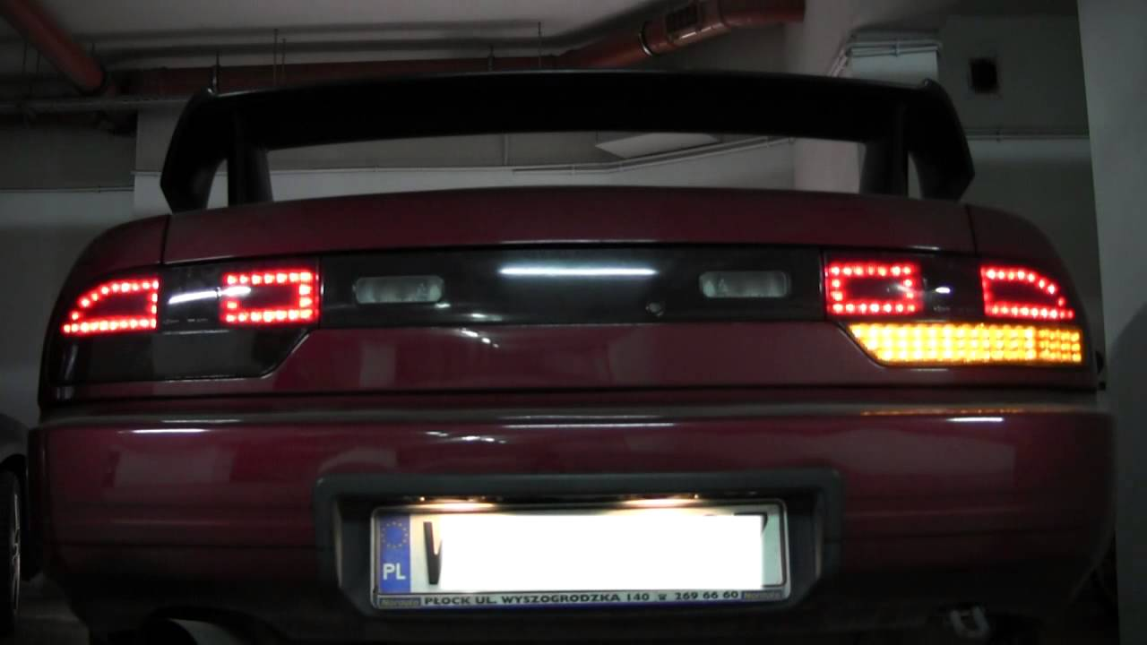 S13 Led Tail Lights Youtube