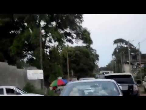 Driving Around Monrovia