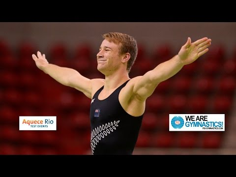 NEWS -  Olympic Test Event Rio BRA - Men&39;s and Women&39;s Trampoline Finals