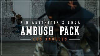 KINJAZ X BNGA | Ambush Pack Los Angeles |  #AMBUSHPACK2 (PART 2)