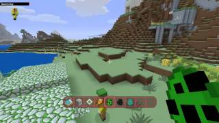 Minecraft (XBOX ONE/PS4) - TEXTURE PACK SHOWCASE - CARTOON, HALO, CANDY +MORE