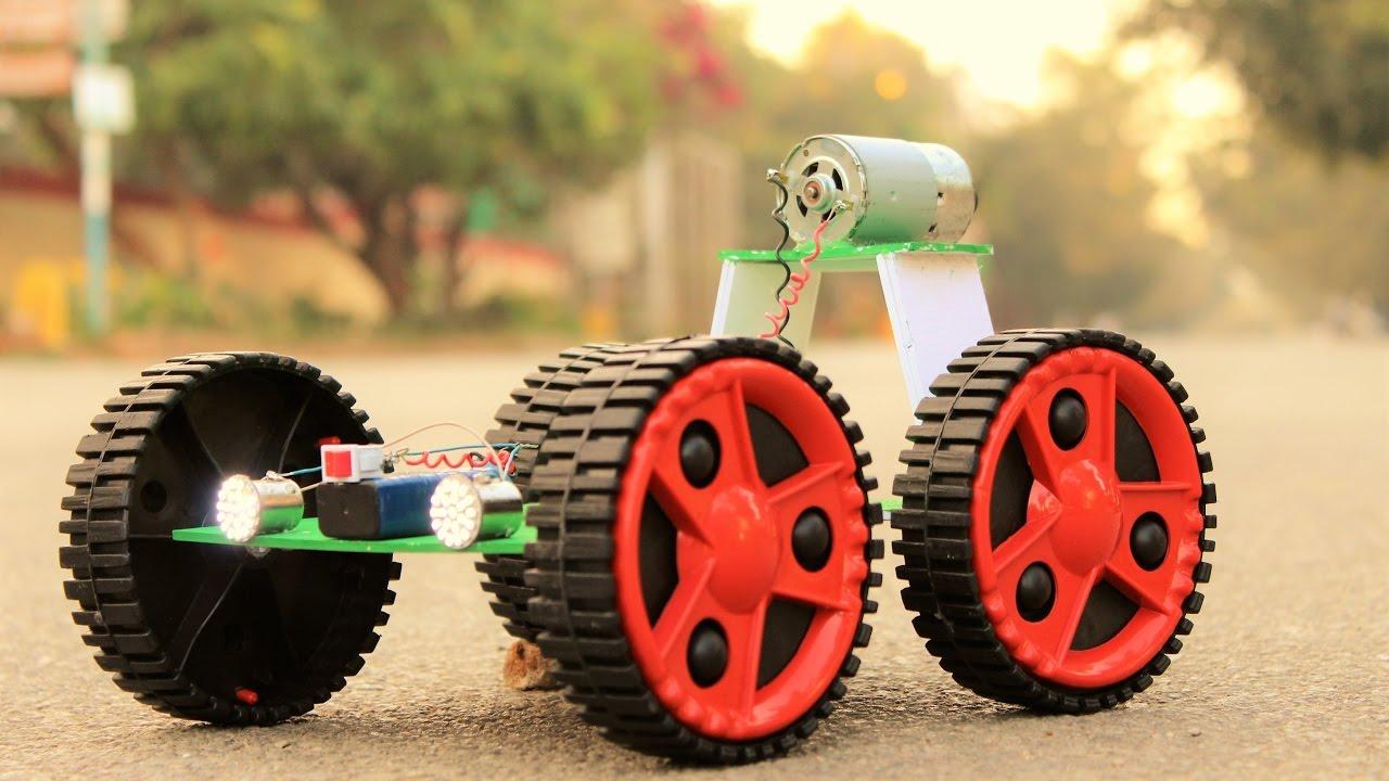 Make A Car >> How To Make A Car Powered Car