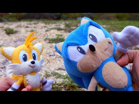 Sonic Plush: The First Tag Team