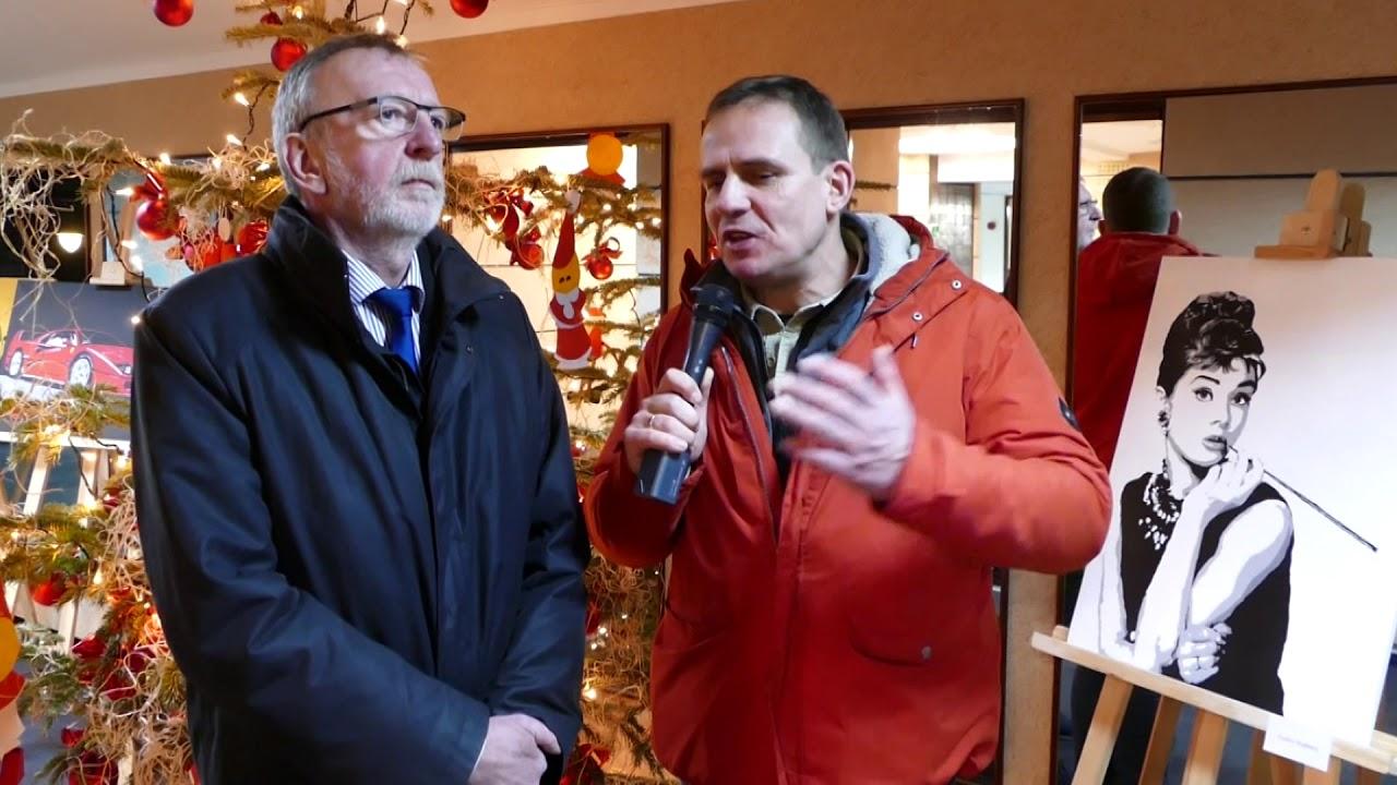 Noworoczny wywiad z burmisrzem.