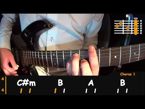 How to play - The Mamas & The Papas - California Dreamin', easy guitar lesson (FULL+SOLO)