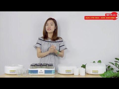 Máy làm sữa chua Chefman – Làm sữa chua tại nhà thành công 100%