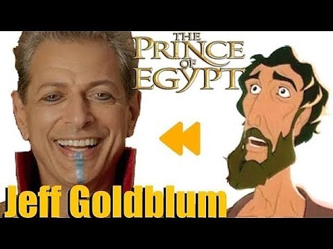 """Prince of Egypt"" Voice Actors and Characters"
