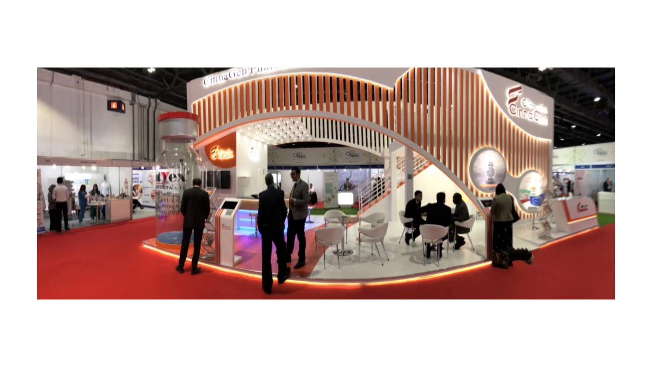 Exhibition Stand Double Decker : Double decker exhibition stand 20 hours buildup