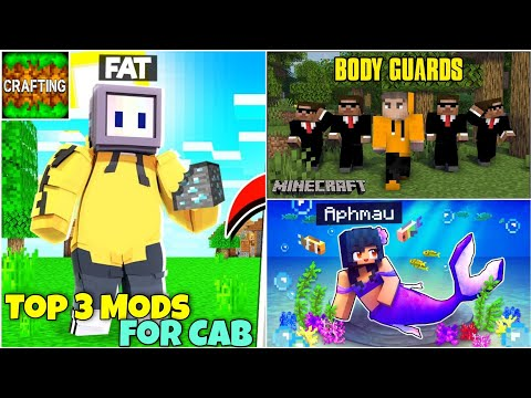 Top 3 Most Popular Mods For Crafting And Building | Minecraft Mods In Crafting And Building