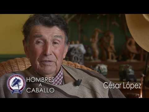 hombres a caballo César López